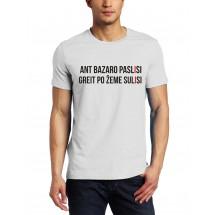 Marškinėliai Ant bazaro paslisi
