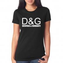 Marškinėliai Dieviška ir gundanti