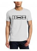 Marškinėliai Eat Sleep Lift