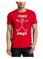 Marškinėliai Free hugs
