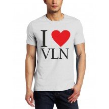 Marškinėliai I love VLN