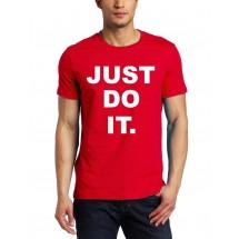 Marškinėliai Just do it.