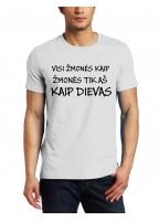 Marškinėliai Kaip dievas