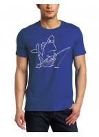 Marškinėliai Žuvytė valtyje