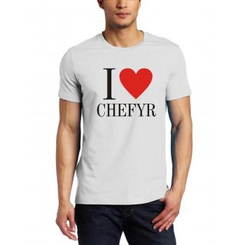 Marškinėliai I love CHEFYR